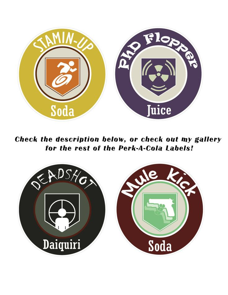 Perk-A-Cola Labels 2 by TBoneCaputo.deviantart.com on @DeviantArt