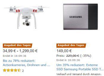 """Samsung: Externe SSD mit 500 GByte und guten Bewertungen für 149 Euro https://www.discountfan.de/artikel/technik_und_haushalt/samsung-externe-ssd-mit-500-gbyte-und-guten-bewertungen-fuer-149-euro.php Die Bewertungen sprechen für das Produkt, der Preis tut es auch: Für 149 Euro ist heute als """"Angebot des Tages"""" bei Amazon die Samsung Portable SSD T3 500GB MU-PT500B/EU mit USB 3.1 und 500 GByte Kapazität zu haben. Samsung: Externe SSD mit 500 GByte und guten B"""