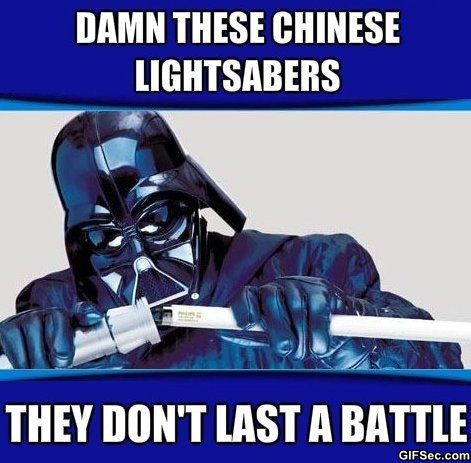 chinese memes | MEME – Chinese Lightsabers - Funny Pictures, MEME and Funny GIF from ...