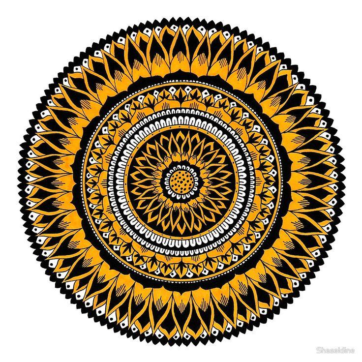 Summer Mandala by Shaseldine