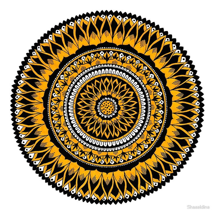 Summer Mandala by Shaseldine