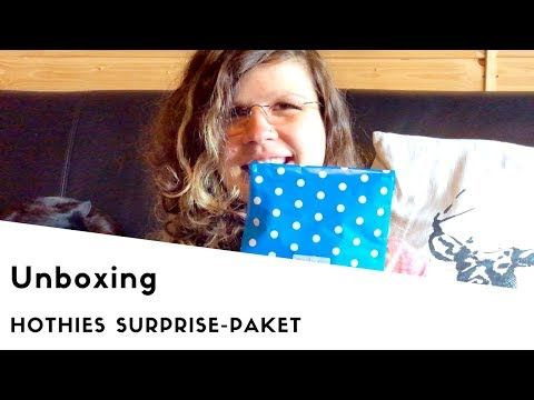 HOTHies Surprise Paket Unboxing - YouTube