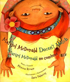 Marisol McDonald Doesn't Match by Monica Brown: Marisol Mcdonald'S, Burritos, Polka Dots, Red Hair, Pictures Books, Brown Skin, Monica Brown, Children Books, Peanut Butter