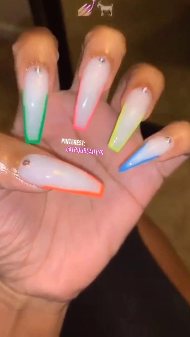 Pin On Birthday Nails