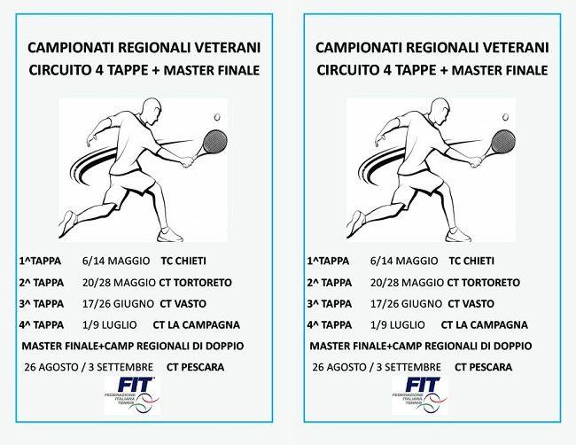 TC La Campagna: 4 ed ultima tappa dei campionati regionali veterani di tennis