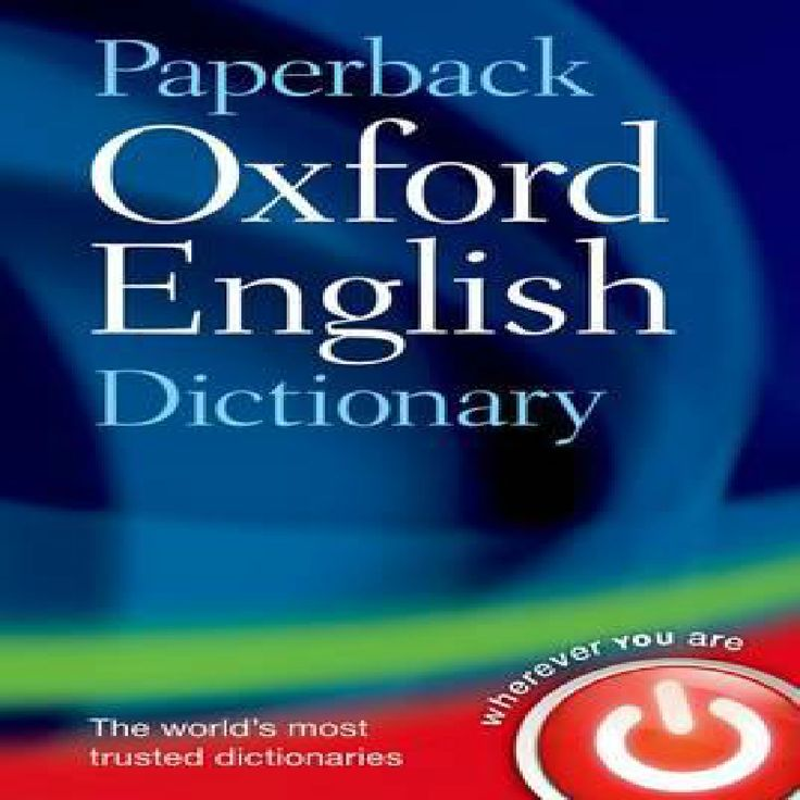 Oxford english dictionary vers.4.0 2017