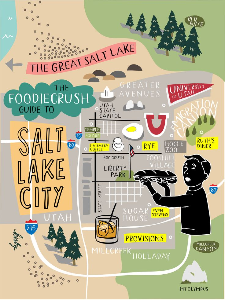 Food Bloggers Guide of Where to Eat in Salt Lake City / foodiecrush.com