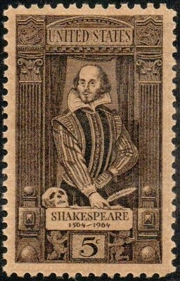 1964 5c W. Shakespeare Scott 1250 Mint F/VF NHPostzegels Verenigd, Shakespeare Stamps, Scott 1250, Shakespeare Scott, 1250 Mint, Sellos Del, Postal Stamps, Pin Postal, Postage Stamps