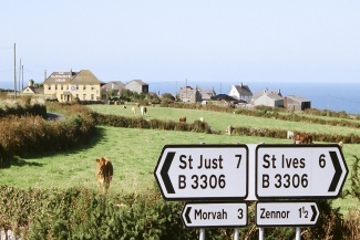 GURNARDS HEAD: between St Just and St Ives, Cornwall.