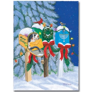 Mailboxes Mixed Blessing Interfaith Holiday Cards Www