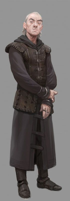 Senior intendant Talbert of Lank is in charge of the dozen intendants employed by the Red Shield to oversee the delve and catalogue supply and loot.