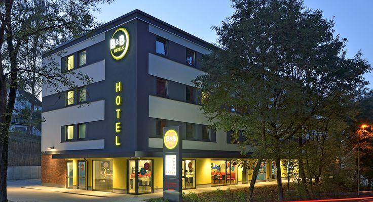 Außenansicht des B&B Hotels #Passau