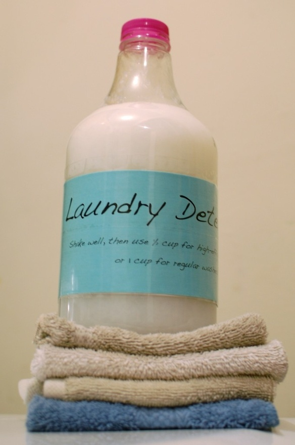 LOVE this laundry detergent!  I've been using it for 8 months or so.  So much cheaper and it works!