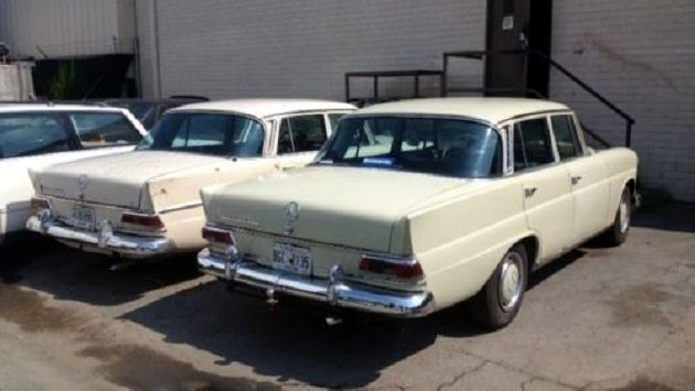 Pair of Mercedes 200D's for $3,750! - http://barnfinds.com/pair-of-mercedes-200ds-for-3750/