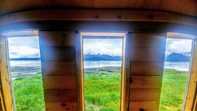 Rocket House Glamping Adventure Cabin In Seward Alaska Lodges House Glamping