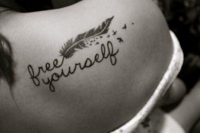 TattooTattoo Ideas, Free, Birds Tattoo, First Tattoo, A Tattoo, Shoulder Tattoo, Feathers Tattoo, Cute Tattoo, Ink