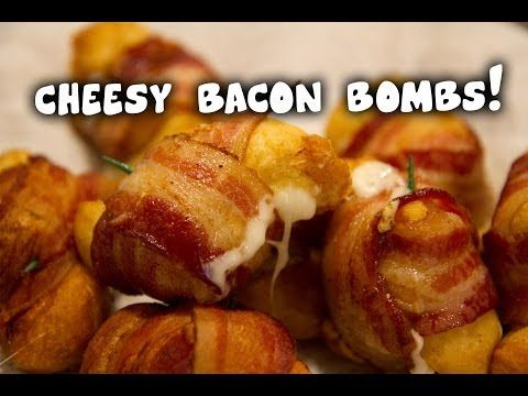 Easy bacon bombs!