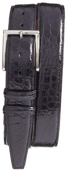 Men's Torino Belts Genuine American Alligator Leather Belt