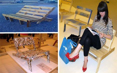 pallet chair: Outdoor Furniture, Patio Furniture, Outdoor Chairs, Adirondack Chairs Diy Pallets, Pallets Patio, Wooden Pallets, Projects Ideas, Wood Pallets, Pallets Chairs