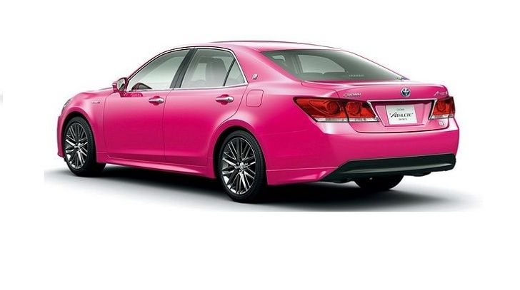 Toyota Crown Limited Pingky | Wih...Toyota Luncurkan Pinky Crown
