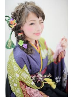 ティージェー天気予報 パートナイン 末広店(TJ Part9) 卒業式・袴ヘアアレンジ