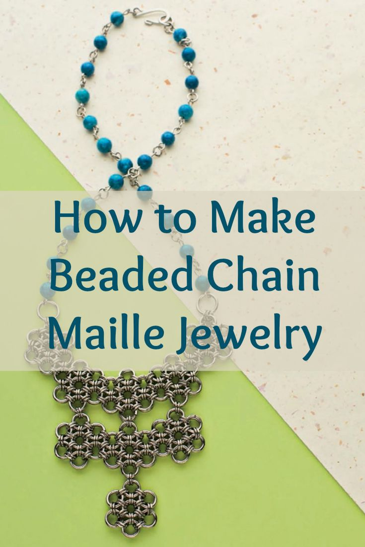 You can now master new weaves by learning how to make chain maille jewelry with these 4 FREE beaded chain maille jewelry patterns. #beading #DIY #jewelrymaking #chainmaille