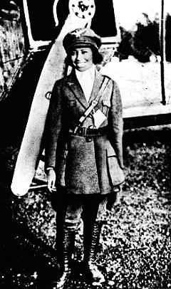 Bessie Coleman (1892-1926) was the first Black American female pilot ever.  A true hero.