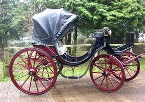 ... horse and carriage hire, for weddings and funerals; Victoria Carriage