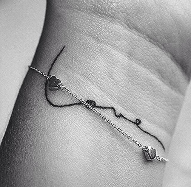 heart wrist tattoos ideas