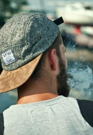 men's style. cool hat.