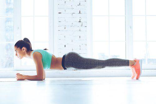 Desafío del plank
