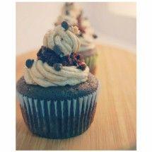 KAMUT® Brand Khorasan Wheat - Recipe Details for KAMUT Brand Khorasan Wheat Chocolate Cupcakes with Flour Buttercream