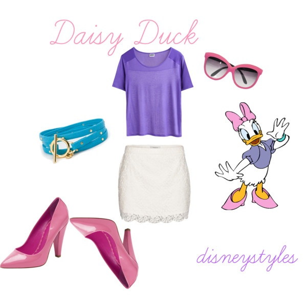 """""""Daisy Duck"""" by disneystyles on Polyvore"""