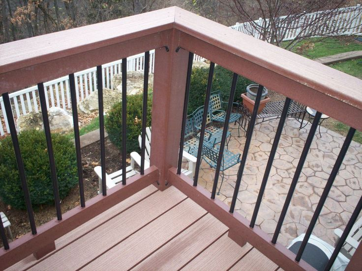 Best Amazing Metal Deck Railings With Inspirations Futuristic 400 x 300