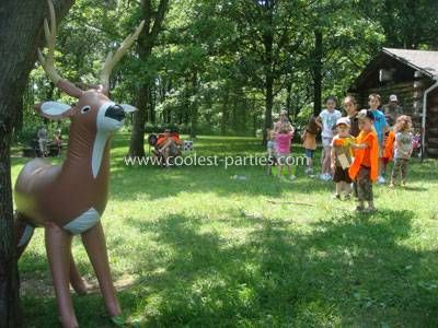 Hunting Birthday Party Ideas
