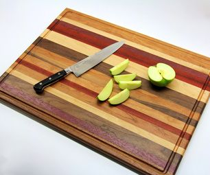 Beautiful cutting board - plus 49 other projects