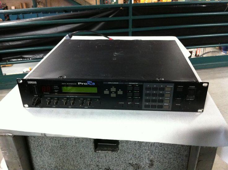 Yamaha Pro R3 Digital Reverberator