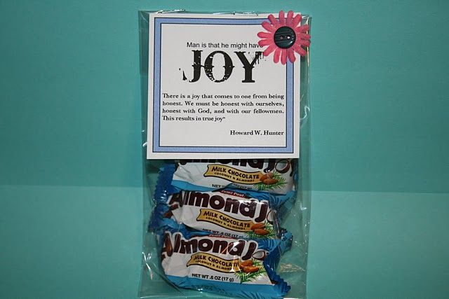 This LDS blog has cute gift ideas!