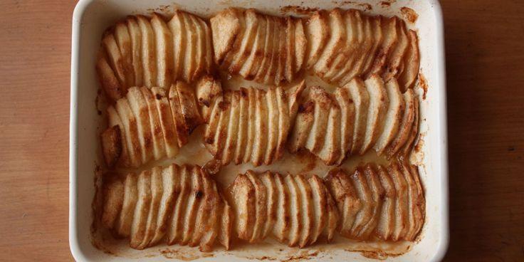 村井さんちの田舎ごはん「りんごのぎゅうぎゅう焼き」