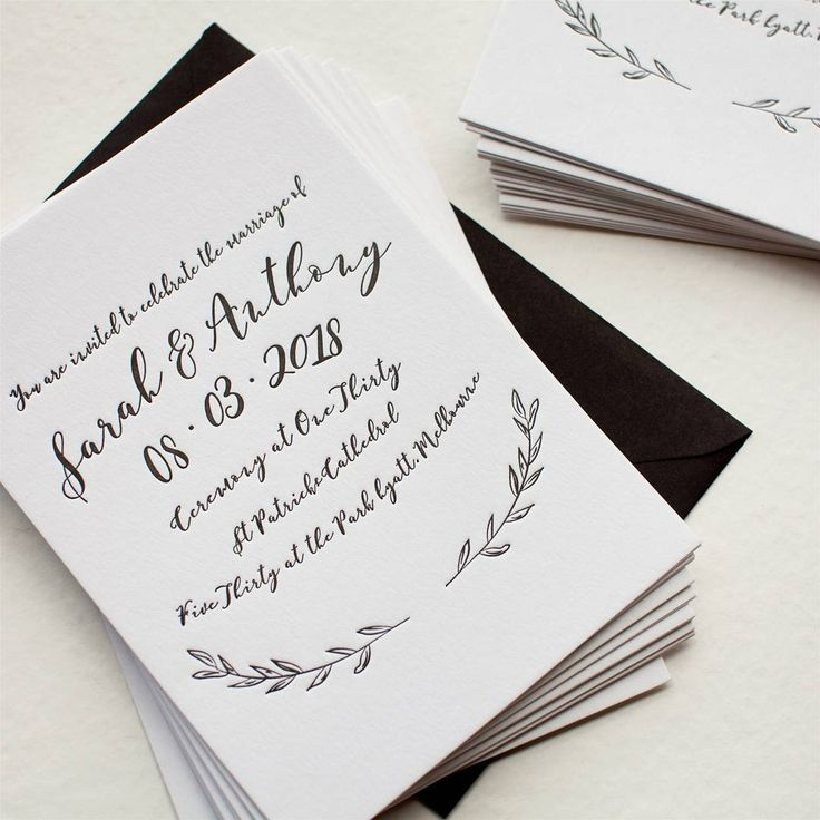 152 best illustratedhandmade design inspiration images on and the winner for the less is more design challenge is willowd wedding invitation stopboris Gallery