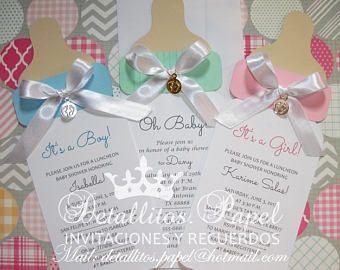 Baby shower Invitation, Bottle invitation, Baby Shower invitation girl, Baby Shower invitation boy, Invitaciones Baby Shower 50