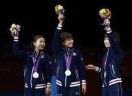 五輪=卓球女子団体、日本は中国に屈すも史上初の銀メダル