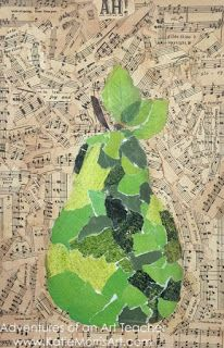 Adventures of an Art Teacher: 2D Boot Camp: Collage and Monoprinting