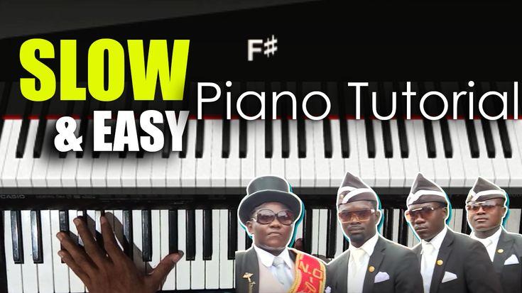 Coffin Dance Easy Slowly Piano Tutorial Meme Song Astronomia