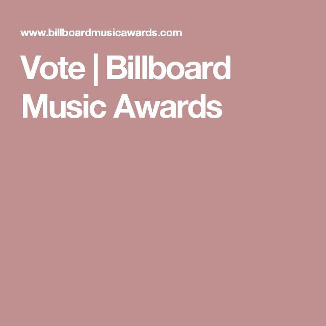 Vote | Billboard Music Awards