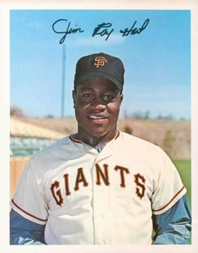Death:October 30, 1941 – May 19, 2016:  Jim Ray Hart: San Francisco Giants (1963–1973) New York Yankees (1973–1974)// In a 12-season career, Hart posted a .278 batting average, with 170 home runs and 578 runs batted in (RBIs) in 1,125 Major League games played.Hit for the cycle July 8, 1970 and tied for second place with Rico Carty in NL ROY voting in 1964 behind Dick Allen
