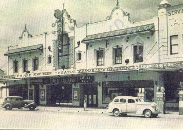 Empire Theatre, Goulburn, NSW. Date unknown.