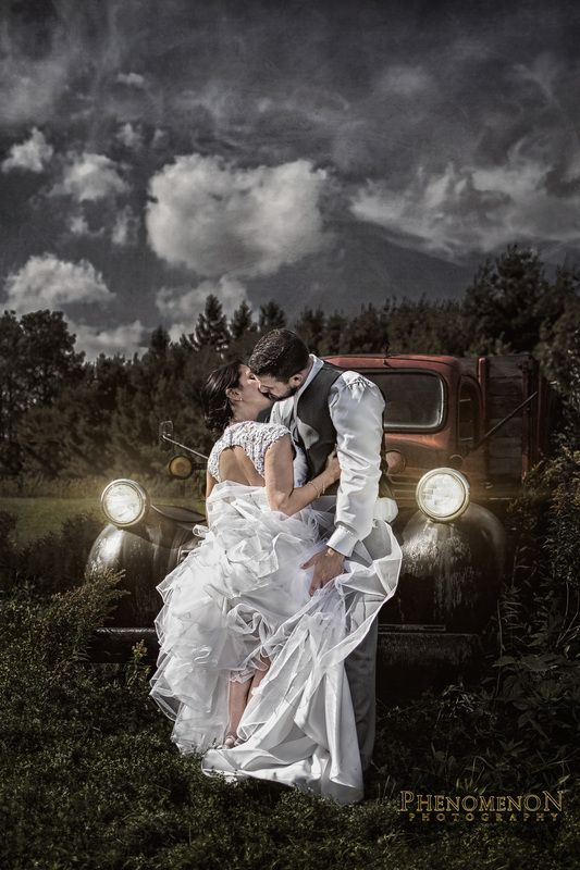 Rustic Wedding Photography Getthetie Phenomenonphotography Weddings Dodge Truck 1940 Farmtruck Rusticwedding Hdr Hiddenvalley H