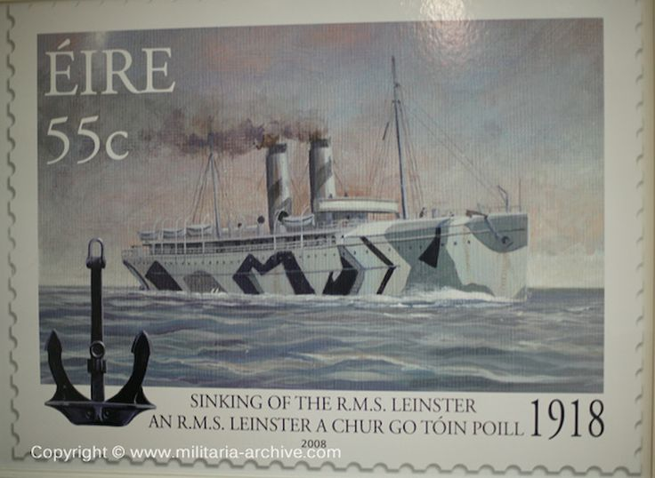 Commemorative Stamp issued 2008 rms leinster - Google Search