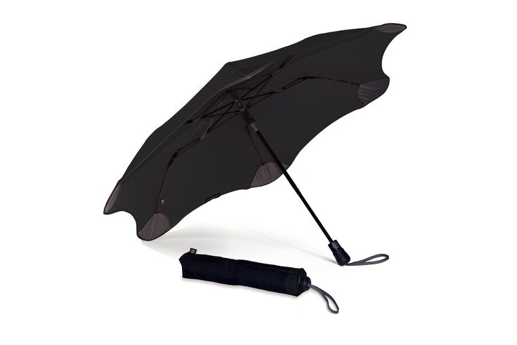 It's the strongest umbrella around, can be popped open with one hand, and is small enough to fit in your handbag. Get your Black BLUNT XS_Metro umbrella at www.GumbootBoutique.com